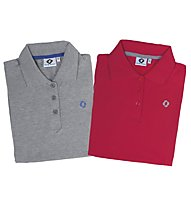 Up&Down Polo Shirt S/S, Papavero (Red)