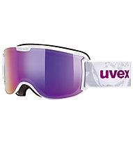 Uvex Skyper FM - Skibrille, White/Pink