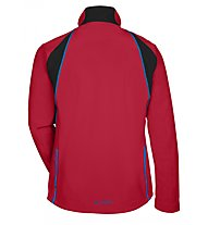Vaude Men's Virt Softshell Giacca MTB, Indian Red