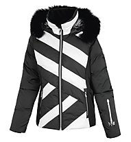 Vuarnet Giacca sci M-L Verla Down Jacket Lady, Black/White