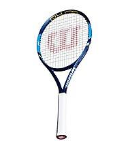 Wilson Ultra 100 racchetta da tennis, White/Blue