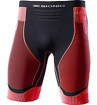 X-Bionic Effektor Power pantaloncini running, Black/Red