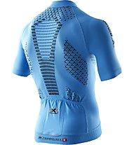 X-Bionic Twyce Bike Shirt Short Men Radtrikot, France Blue/Black