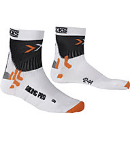 X-Socks Biking Pro, White/Black