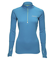 Zoot Microlite+ 1/2 Zip W, Light Blue/Grey